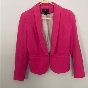H & M Hot Pink Blazer